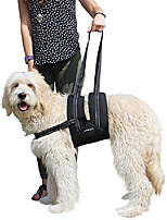 cheap -veterinarian approved dog canine k9 sling assist with chest strap adjustable reflective straps support harness helps with loss of stability joint injuries arthritis acl rehabilitation rehab