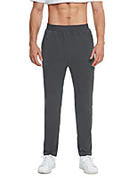 cheap -men's sweatpants with zipper pockets open bottom athletic pants for jogging, workout, gym, running, training