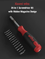 cheap -XIAOMI Mijia Wiha 26 in 1 Multi-purpose Screwdriver Set RepairTool Kit with Hidden Magazine Design