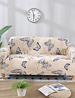 cheap -Stretch Slipcover Sofa Cover Couch Cover Butterfly Printed Sofa Cover Stretch Couch Cover Sofa Slipcovers for 1~4 Cushion Couch with One Free Pillow Case