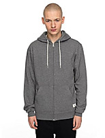 cheap -men's rebel zip-up hoodie sweatshirt, charcoal heather, m