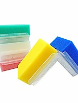cheap -4 counts munkcar silicone autism sensory brushes therapy-baby bathing brushes squeezy and bouncy fidget toys body bathing silicon loofah brushes