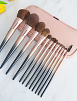 cheap -12 Pcs makeup brush set with lacquered sandfull set of beauty tools and makeup brushes with brush bag