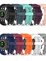 cheap -Watch Band for Garmin Swim 2 Garmin Classic Buckle Silicone Wrist Strap