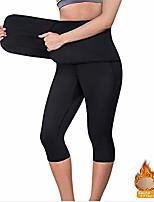 cheap -slimmer hot neoprene shorts for women,women sauna yoga pant capris fat control sweat legging with waist trainer belt hot sweat pants,xl