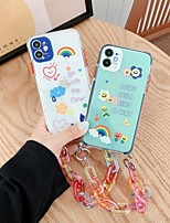 cheap -Case For iPhone 7 8 7plus 8plus X XR XS XSMax SE(2020) iPhone 11 11Pro 11ProMax Shockproof Ultra-thin Pattern Back Cover Word Phrase Cartoon TPU
