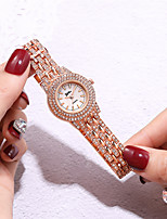 cheap -Women's Quartz Watches Quartz Modern Style Stylish Classic Diamond Analog Rose Gold Gold Silver / Chronograph / Imitation Diamond