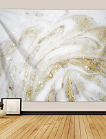 cheap -Wall Tapestry Art Decor Blanket Curtain Picnic Tablecloth Hanging Home Bedroom Living Room Dorm Decoration Polyester White Gold Colorful Beauty Abstract