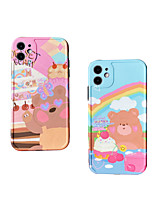cheap -Case For Apple iPhone 7 plus 8 plus XR XS XS MAX X SE 11 11Pro 11ProMax Pattern Back Cover TPU Cartoon