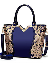 cheap -Women's Bags PU Leather Top Handle Bag Sequin Zipper for Daily / Date Wine / White / Black / Blue