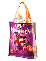 cheap -Unisex Bags Canvas Gift Bags Pattern / Print for Party Halloween Event / Party Black Yellow Army Green Orange