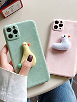 cheap -Case For iPhone 11 Pattern Back Cover Animal Textile Case For iPhone 11 Pro Max / SE2020 / XS Max / XR XS 7 / 8 7 / 8 plus