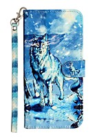cheap -Case For Samsung Galaxy S20 S20 Plus S20 Ultra Wallet Card Holder with Stand Full Body Cases Snow Mountain Wolf PU Leather TPU for Galaxy A21s Galaxy A01 Galaxy A31 Galaxy A41 Galaxy A51 Galaxy A71
