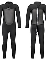 cheap -Men's Women's Full Wetsuit 2mm SCR Neoprene Diving Suit Long Sleeve Back Zip Patchwork Autumn / Fall Spring Summer / Stretchy