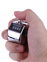 cheap -Hand Tally Golf Digital Chrome Handtally Clicker/Counter 4 Digit Number Clicker Golf Digital Chrome Hand Tally Clicker