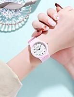 cheap -Women's Quartz Watches Quartz Modern Style Stylish New Arrival Cute Analog White / Black White Black