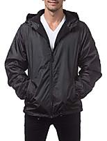 cheap -men's fleece lined windbreaker jacket, charcoal, 4x-large