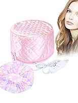 cheap -110v hair care hat,hair spa cap,hair care steamer cap,thermal hair cap,waterproof home hair thermal care electric hair treatment beauty steamer perfect for family personal care (pink)