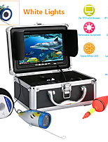 "cheap -MOUNTAINONE F001M-20M 20M 7"" Inch 1000tvl Underwater Fishing Video Camera Kit 12 PCS LED Lights Video Fish Finder Lake Under Water fish cam"