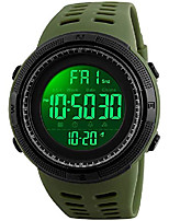 cheap -big dial digital watch s shock men military army watch water resistant led sports watches (army green)