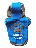 cheap -pet cat dog winter hooded jacket winter casual pets dog clothes warm coat clothing dogs(blue,xl)