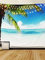cheap -tapestry wall tapestry wall hanging tapestries ocean tapestry exotic hawaii beach water and coconut palm tree by the shore wall hanging for bedroom living room dorm