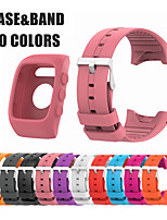 cheap -Watch Band for POLAR M400 / POLAR M430 Polar Modern Buckle Silicone Wrist Strap