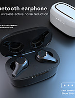 cheap -LITBest G08 TWS True Wireless Earbuds Bluetooth5.0 Stereo with Charging Box Sweatproof ANC Active Noice-Cancelling Auto Pairing for Gaming