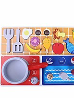 cheap -gourmet play kitchen starter accessories wooden play set pretend cooking toy