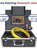cheap -MOUNTAINONE F9809-50M 1000TVL 9 Inches Hemisphere Rotating Pipe Camera Infrared Light High Strength Fiber Underwater fishing Camera For Ice Fishing