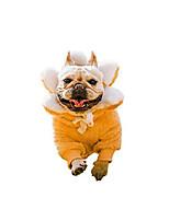 cheap -丨handmade丨organic cotton丨french bulldog soft fur coat, dog pullover, dog sun-flower costume, dog winter/fall clothes for french bulldog/american pit bull terrier/pug (m)