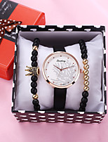 cheap -Women's Quartz Watches Quartz Modern Style Stylish Fashion Chronograph Analog Black / PU Leather / Imitation Diamond