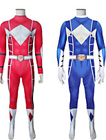 cheap -Inspired by Power Rangers Mighty morphin Anime Cosplay Costumes Japanese Cosplay Suits Zentai For Men's Women's