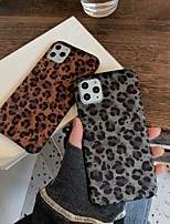 cheap -Case For Apple iPhone 7 8 7plus 8plus X XR XS XSMax SE(2020) iPhone 11 11Pro 11ProMax Shockproof Ultra-thin Pattern Back Cover Animal Textile TPU