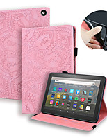 cheap -Case For Amazon Fire HD 8 (2020)  HD (2015-2018)  Amazon Fire HD 10 (2017) Kindle Paperwhite 1 2 3 4 Card Holder  Flip  Magnetic Full Body Cases Animal   Cartoon  Flower PU Leather