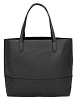 cheap -large vegan leather tote bag - womens slouchy shoulder bag with open top