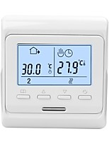 cheap -Large Power Intelligent Temperature Humidity Controller Thermostat System Weekly Circulation Anti-flammable PC Housing Material Programming Touching Screen