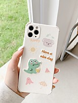 cheap -Case For iPhone 11 Pattern Back Cover Animal Cartoon TPU Case For iPhone 11 Pro Max / SE2020 / XS Max / XR XS 7 / 8 7 / 8 plus