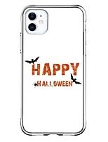 cheap -Halloween Case For Apple iPhone 12 iPhone 12 Mini iPhone 12 Pro Max Unique Design Shockproof Back Cover TPU