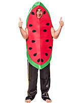 cheap -watermelon Cosplay Costume Party Costume Adults' Men's Cosplay Halloween Halloween Festival / Holiday Polyester Red Men's Women's Easy Carnival Costumes / Leotard / Onesie / Leotard / Onesie
