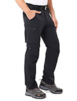 cheap -men's convertible pants hiking pants quick dry cargo pants lightweight comfort stretch for travel, rock grey, xl