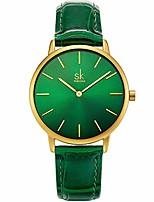 cheap -simplicity creative women watch genuine leather elegant women watches ladies business wristwatch