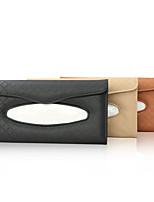 cheap -Genuine Leather Car Visor Tissue Holder  Multi-Functional  Organizer Visor Tissue Box Bag  for Car & Truck