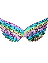 cheap -Princess Wings Girls' Movie Cosplay New Year's Golden / Silver / Dark Blue Wings Christmas Halloween Carnival Plastics