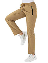 cheap -women& #39;s hiking pants lightweight drawstring outdoor quick dry fishing cargo pants & # 40; khaki, us l& #41;