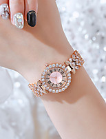 cheap -Women's Quartz Watches Quartz Stylish Glitter Classic Chronograph Analog Rose Gold Silver