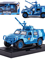 cheap -KDW 1:50 Alloy Military Vehicle SUV Toy Car Pull Back Vehicle Simulation Music & Light All Kids Baby & Toddler Car Toys