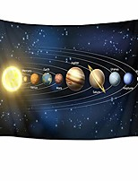 cheap -universe tapestry planets and stars in solar system wall hanging space tapestries for bedroom living room dorm party wall decor,80wx60h inches