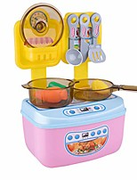 cheap -kitchen pretend play toys kits for kids, cooking pot pan knife foode accessories role play, gift for party birthday (multicolored)