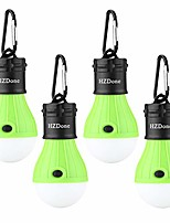 cheap -portable led tent lights 3 modes for camping backpacking hiking fishing emergency-battery powered lights for outdoor and indoor (4 pack) (green)